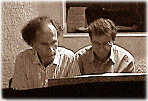 Duo 4, pianists Bart Berman and Meir Wiesel